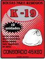 Bolsa de residuo K-19 45 x 60