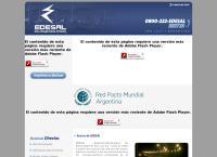 Sitio web de Edesal S.a