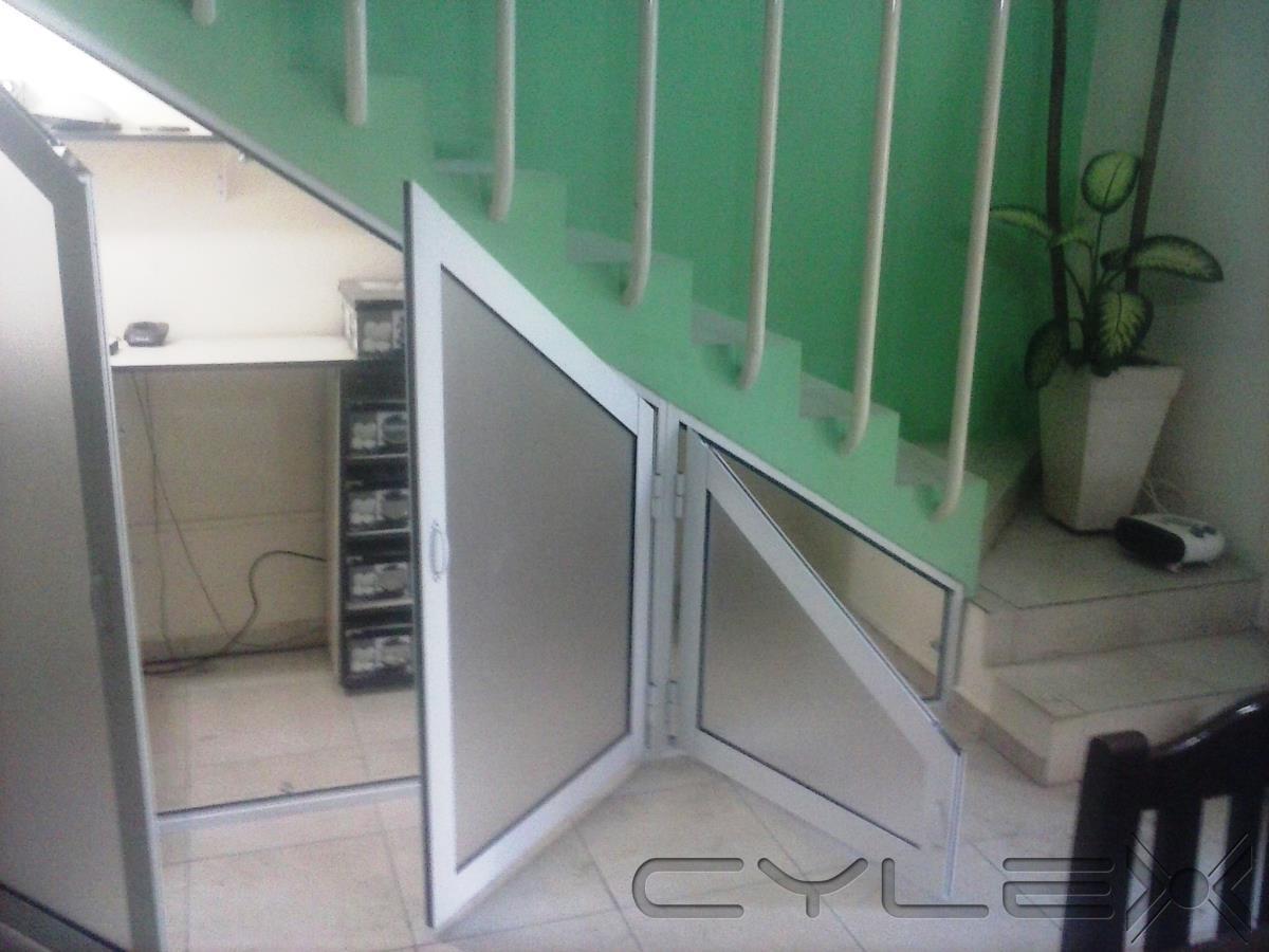 Todo aluminio resistencia av mac lean 444 - Puertas para escaleras ...