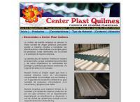 Sitio web de Center Plast Quilmes SRL