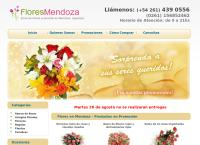 Sitio web de Flores en Mendoza florerías