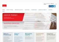 Sitio web de Adecco Argentina S.a