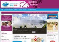 Sitio web de ADROGUE BUS Division Turismo agencias de viajes y turismo