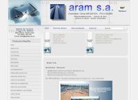 Sitio web de Aram S.a