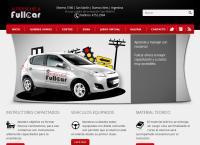 Sitio web de Autoescuela Fullcar