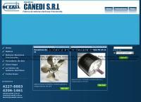 Sitio web de Industrias Canedi SRL Fabric y Venta