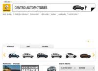 Sitio web de Renault Centro Automotores S.a