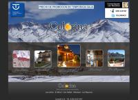 Sitio web de Colorina Apart Hotel y Spa