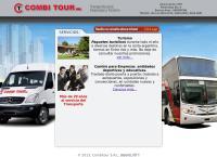 Sitio web de Combi Tour Srl - Viajes Excursiones