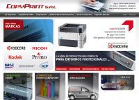 Sitio web de COPYPRINT SRL-fotocopiadoras