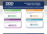 Sitio web de DDD Accesorios Moviles