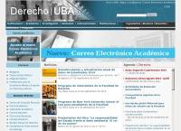 Sitio web de Facultad de Derecho y Ciencias Sociales