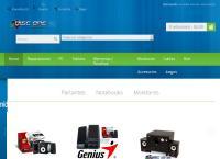 Sitio web de DISC ONE-insumos informáticos