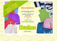 Sitio web de Duchos