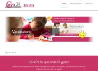 Sitio web de Farmacia Cuyo 24 Hs
