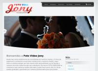 Sitio web de Foto Video Jony