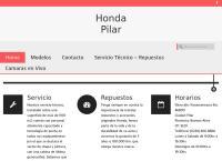 Sitio web de Honda Pilar