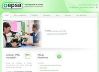 Sitio web de Escuela Privada de Sanidad - Epsa