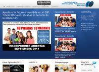 Sitio web de Isip Instituto Superior Innovaciones Pedagógicas Siglo Xxi