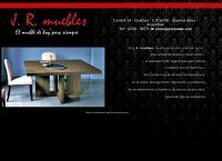 Sitio web de J. r. Muebles - El Mueble de ¨hoy¨para Siempre . . . .