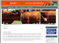 Sitio web de La Casa Del Alambre