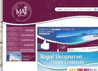 Sitio web de Turismo Mai Travel