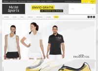 Sitio web de Mega Sport