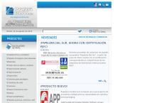 Sitio web de Papelera Cumbre S.a.