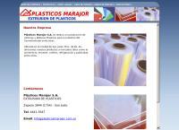 Sitio web de Plasticos Marajor S.a