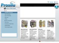 Sitio web de Prosilu S.r.l. Muebles en Chapa, Caño y Madera