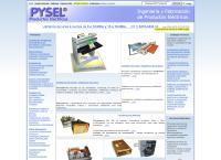 Sitio web de Pysel, Productos Electricos