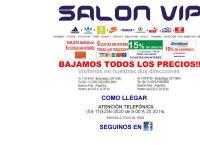 Sitio web de SALON VIP-venta de calzados e indumentaria deportiva