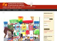 Sitio web de Super Centro Mayorista