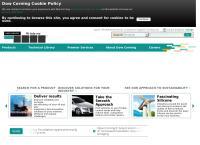 Sitio web de Dow Corning de Argentina S.a.i.c