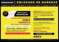 Sitio web de Enlozado Novacolor