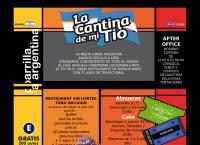 Sitio web de La Cantina de Mi Tio