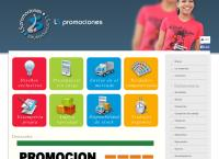 Sitio web de Ls Promociones - Fabrica de Indumentaria Publicitaria - Articulos de Merchandising
