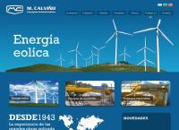 Sitio web de Metalurgica Calviño S.a