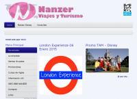 Sitio web de Nanzer Viajes - Seguros