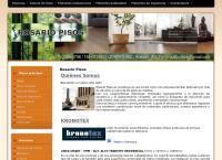 Sitio web de Rosario Pisos - Parquets Flotantes
