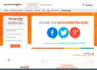 Sitio web de Tarjeta Naranja