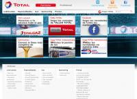 Sitio web de Total Lubricantes Argentina S.a