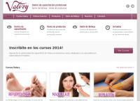 Sitio web de Valery - Instituto de Belleza Integral Centro de Capacitacion