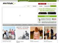 Sitio web de ANTINA TELEVISION DIGITAL Sucursal Florencio Varela