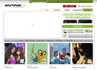 Sitio web de ANTINA TELEVISION DIGITAL Sucursal Morón