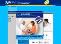 Sitio web de Centro Integral de Diagnóstico por Imágenes- CIDIGROUP Sucursal SAN MIGUEL 2 RMI