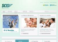Sitio web de SCIS Sucursal Mendoza