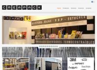 Sitio web de Creapack S.a