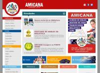 Sitio web de Amicana - Enseñanza de Ingles