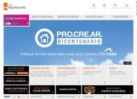 Sitio web de Banco Hipotecario